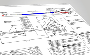 MKiACSM1 markerry industries custom cable harness design cable harness drawing software at n-0.co